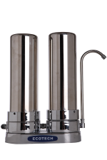 Water Filter Double Stainless Steel